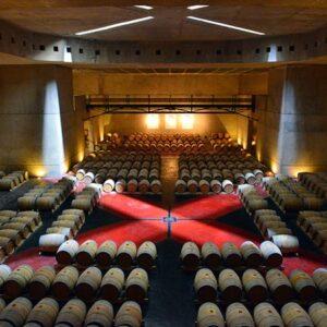 Massive Underground Wine Cellar