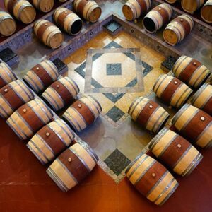 Wine Barrel Line Up