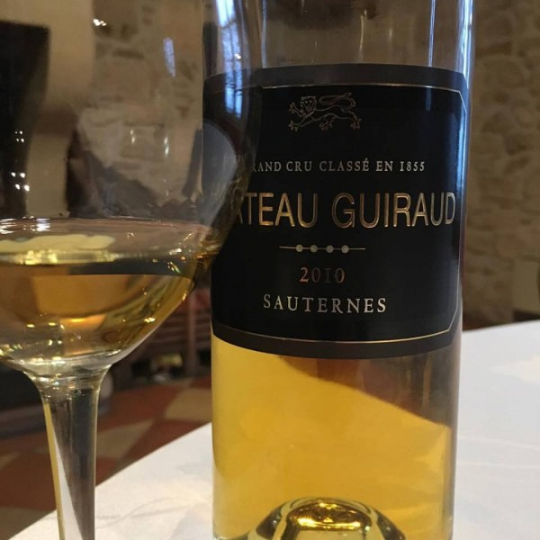 Excellent Sauternes discovered today.