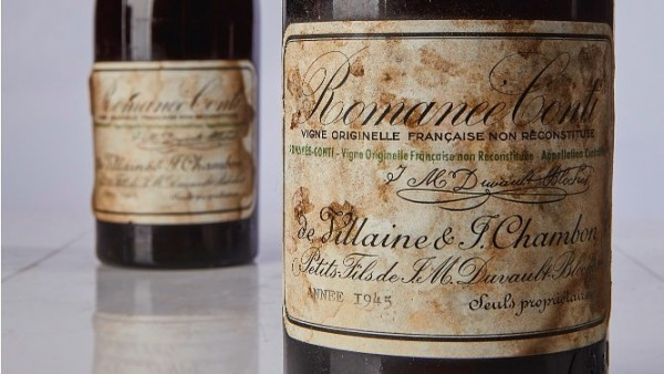 Burgundy producer Romanee-Conti made just 600 bottles of…