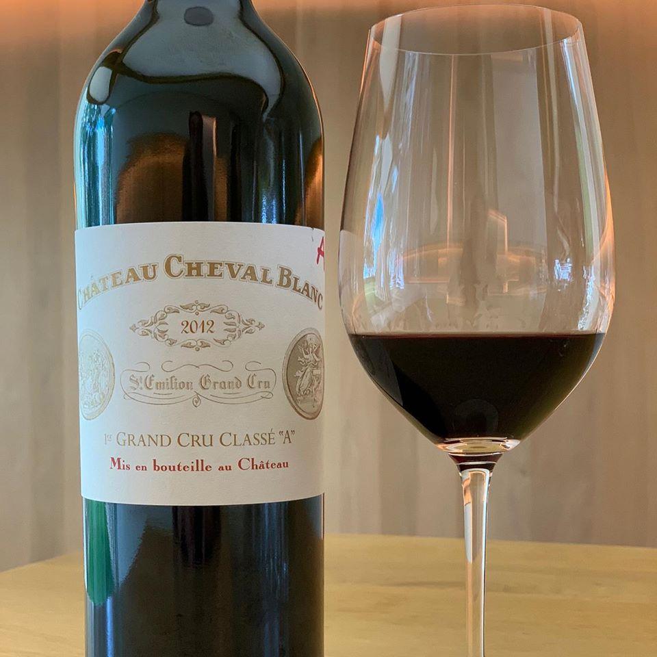 Château Cheval Blanc!