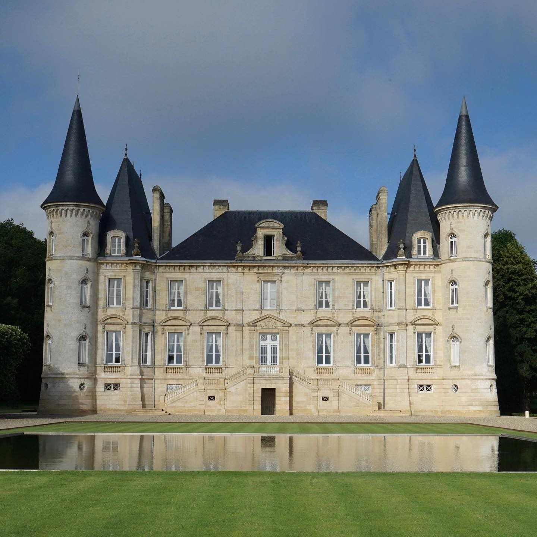 Chateau Pichon Baron castle!